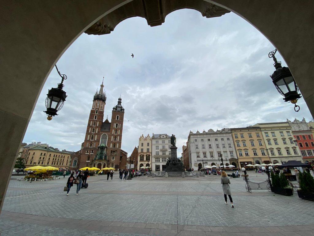 Piata Centrala a Cracoviei